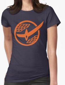 Citrus Samurai (Orange) Womens Fitted T-Shirt