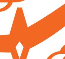 Citrus Samurai (Orange) Sticker