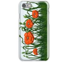 Celia's Poppies iPhone Case/Skin