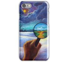 What We Choose to See iPhone Case/Skin
