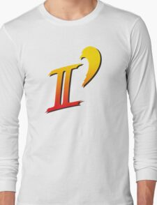 Street Fighter II DASH logo tee Long Sleeve T-Shirt