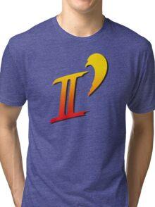 Street Fighter II DASH logo tee Tri-blend T-Shirt