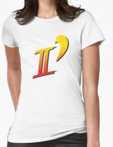 Street Fighter II DASH logo tee Womens Fitted T-Shirt