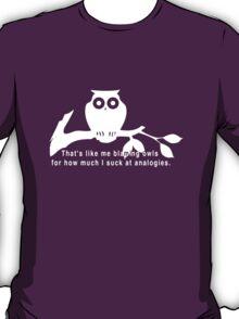 Britta 'Owls' - Community Season 5  T-Shirt