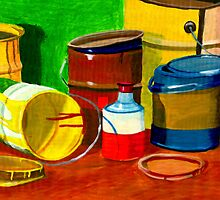 Paint cans in all sizes by reujken