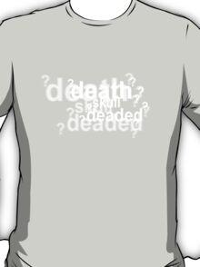 Drunk Sherlock - deaded T-Shirt