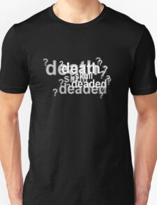 Drunk Sherlock - deaded Unisex T-Shirt