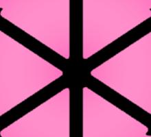 E PLURIBUS ANUS - Greendale Logo Sticker