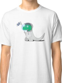 Space Dino Moon Solo Classic T-Shirt