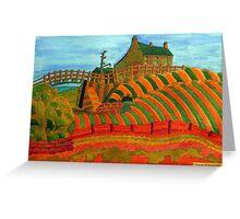 397 - SEATON SLUICE - 04 - DAVE EDWARDS - WATERCOLOUR - 2014 Greeting Card
