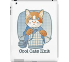 Cool Cats Knit iPad Case/Skin