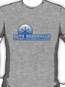 Save Greendale Student-Teacher Alliance! T-Shirt