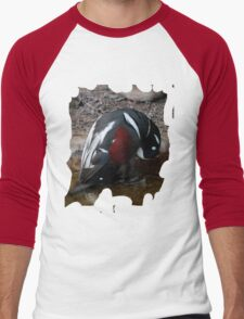 Penguin Shirt Men's Baseball ¾ T-Shirt