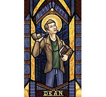 Dean Winchester, Saint of Loyalty Photographic Print