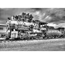 Union Pacific No. 4455 B&W Photographic Print