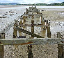 The Old Pier Of Fahan by Fara