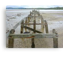 The Old Pier Of Fahan Metal Print