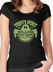 Tobin's Spirit Hot Dogs Women's Fitted Scoop T-Shirt