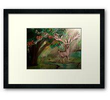 The Forest Hart (Heart) Framed Print