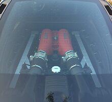 Ferrari 430 Engine Bay by dreinwald67