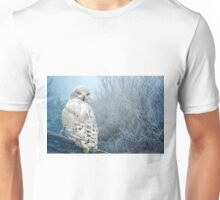 The Mystical Snowy Owl Unisex T-Shirt