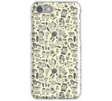 Cartoon Food iPhone Case/Skin