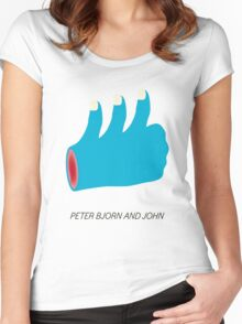 Peter, Bjorn & John  Women's Fitted Scoop T-Shirt