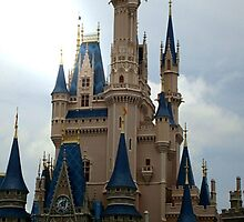 cinderella's castle by stephaniedport