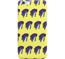 Bright Yellow Pup Pattern iPhone Case/Skin