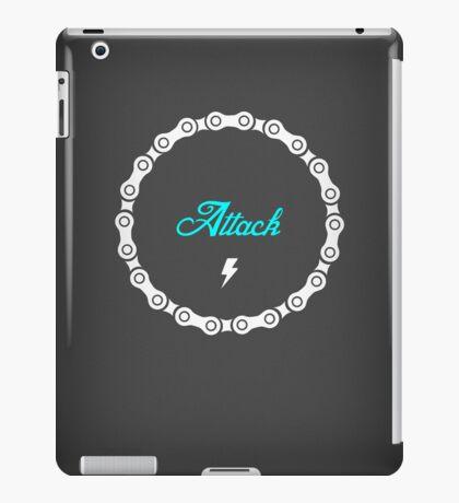 Attack - Blue iPad Case/Skin