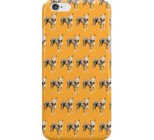 Orange Pup Pattern iPhone Case/Skin