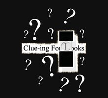 Clue-ing For Looks Womens Fitted T-Shirt