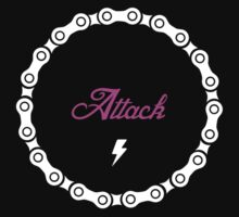 Attack - Pink by Richard Pasqua
