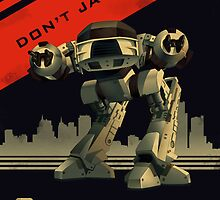 Robocop: Don't Jaywalk by Nathan Anderson
