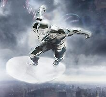 Silver Surfer - Movie Poster by dmorson