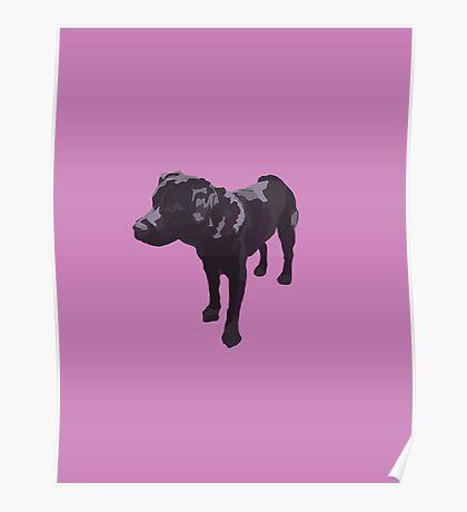 Lavender Lab Poster