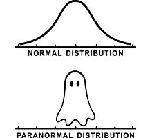 Normal Paranormal Distribution Photographic Print