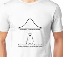 Normal Paranormal Distribution Unisex T-Shirt