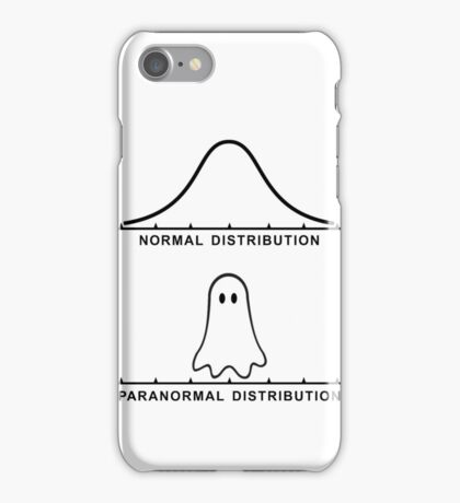 Normal Paranormal Distribution iPhone Case/Skin