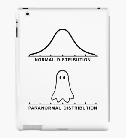 Normal Paranormal Distribution iPad Case/Skin