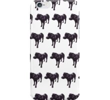 Lavender Lab White Pattern iPhone Case/Skin