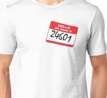 WHO AM I? 24601 Unisex T-Shirt