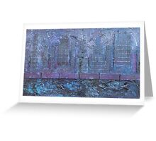 """Cityscape"" by Carter L. Shepard Greeting Card"