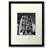 ©MS The Bride Of Tlalpujahua IA Monochromatic Framed Print