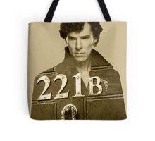 Sherlock 221B Tote Bag