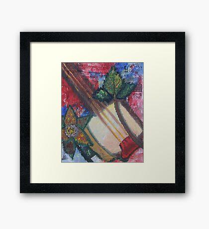 """A Little Sound 2"" by Carter L. Shepard Framed Print"