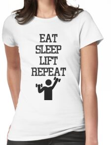 Gym Flow Womens Fitted T-Shirt