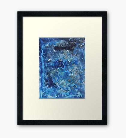 """Blue Dream"" by Carter L. Shepard Framed Print"