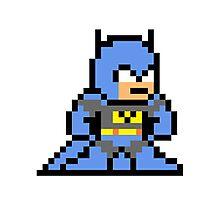 8-bit Batman Photographic Print