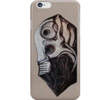 Cyber Mask Portrait iPhone Cover iPhone Case/Skin